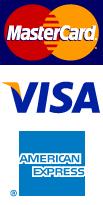 MasterCard | Visa | American Express